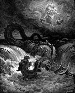The Destruction of Leviathan by  Gustave Doré