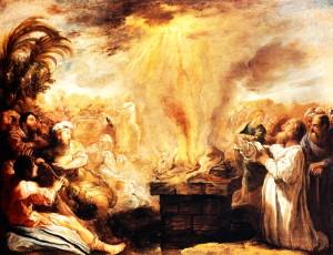 Domenico Fetti, The Triumph of Elijah over the Prophets of Baal, c. 1622 Domenico Fetti, The Triumph of Elijah over the Prophets of Baal, c. 1622